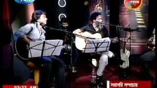 Partho - Keno Ei Nishongota (Acoustic Live with Bappa & Hayder)
