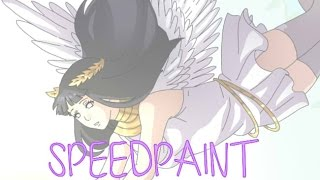 Angel Touches Demon -NH Speedpaint