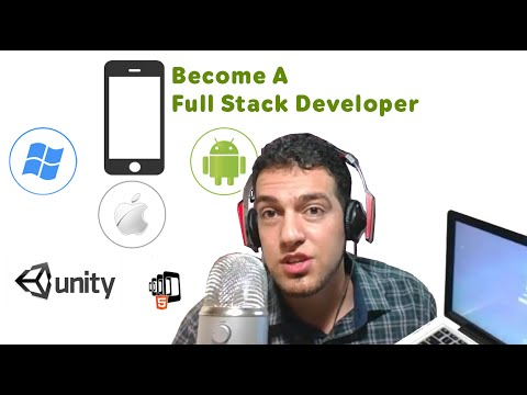 How to Become a Full Stack Developer  Web, Android, IOS, Games, Desktop