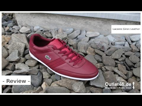 LACOSTE Graduate der Schuh passend zum Poloshirt l Review l On feet l Haul  l Overview l Outlet46 62624ea6c