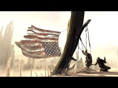 I do like Spec ops: the line (a story of a sniper (Jimi Hendrix - Star-spangled banner)).