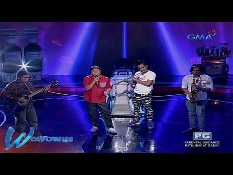 Wowowin: Willie Revillame's 'Nandon Ako' featuring the three musicians