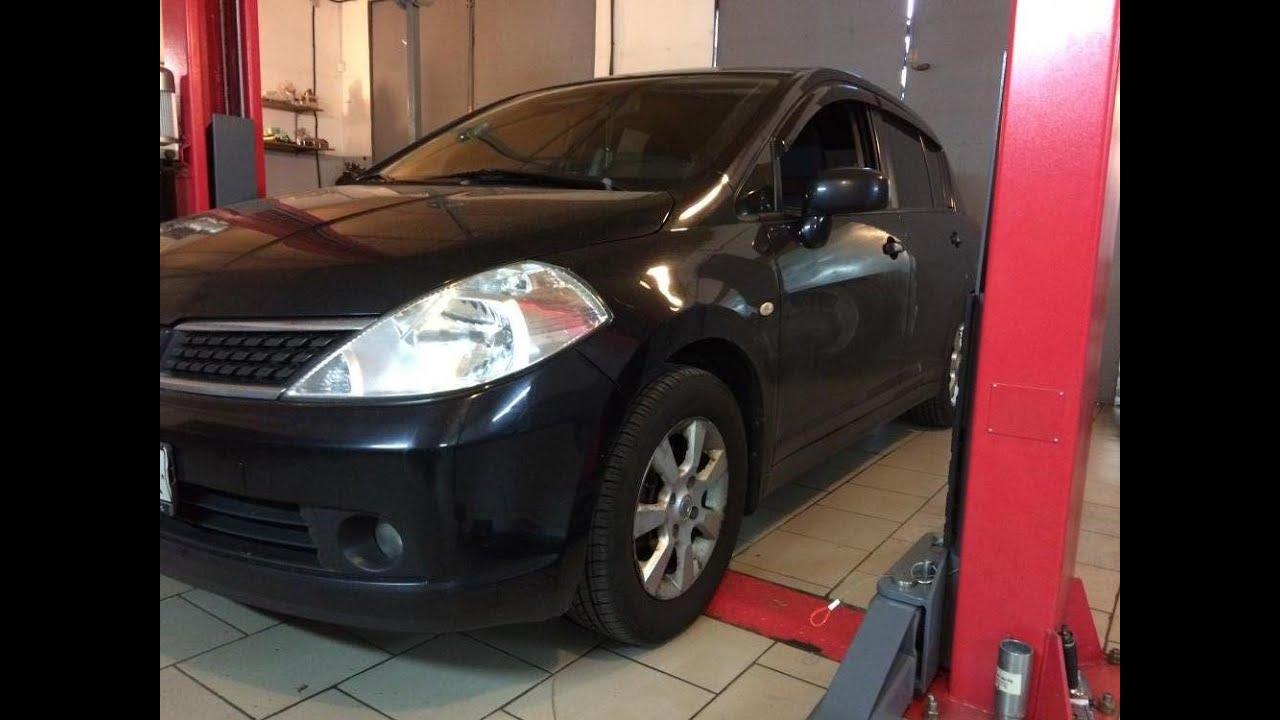 Как поменять свечи Nissan Tiida