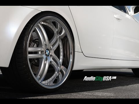 "15 Inch Tires >> BMW M5 2008 On 22"" XIX Wheels - YouTube"