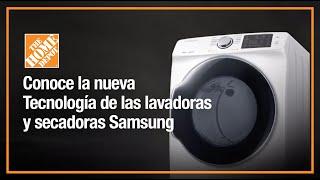 Innovación en Lavadoras y Secadoras Samsung