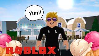 I made a Ice Cream Shop on Bloxburg | Roblox Bloxburg | Crazy Gamer