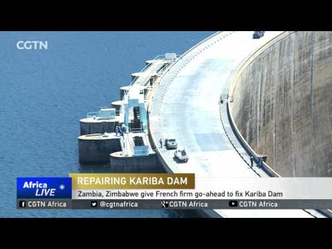 Zambia, Zimbabwe give French firm go-ahead to fix Kariba Dam