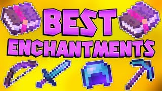 The Best Enchantment Combinations For ALL GEAR (PVE & PVP) |Minecraft Bedrock Edition|MCPE|MCBE