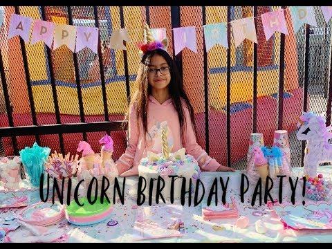 Kayla's 10th Birthday Unicorn Party!