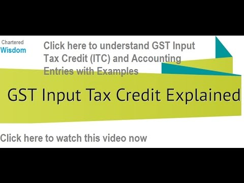Gst input tax credit itc accounting journal entries with gst input tax credit itc accounting journal entries with examples ccuart Image collections