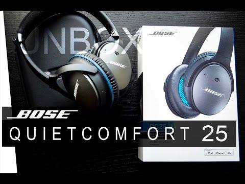 BOSE QuietComfort 25 - Unboxing