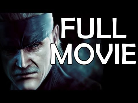 Metal Gear Solid 4 -The Movie - Marathon Edition (All Cutscenes With Gameplay)