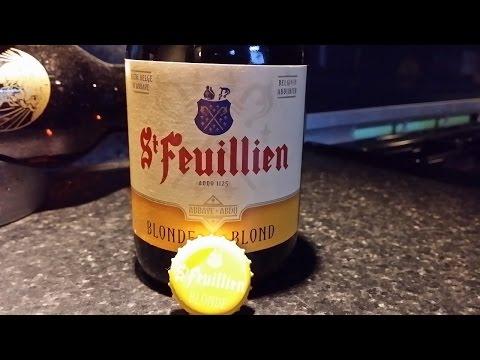 St Feuillien Blonde   Belgian Beer Review