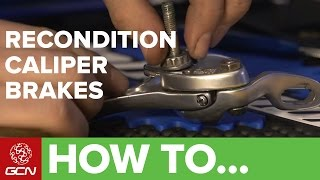How To Recondition Road Bike Caliper Brakes