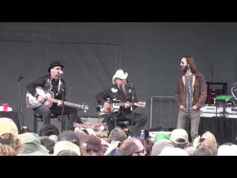 Les Claypool's Duo De Twang - full set Aspen Snowmass Mammoth Fest 6-15-14 HD tripod