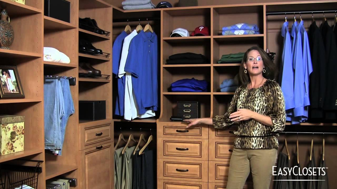 How To Design A Custom Closet. EasyClosets