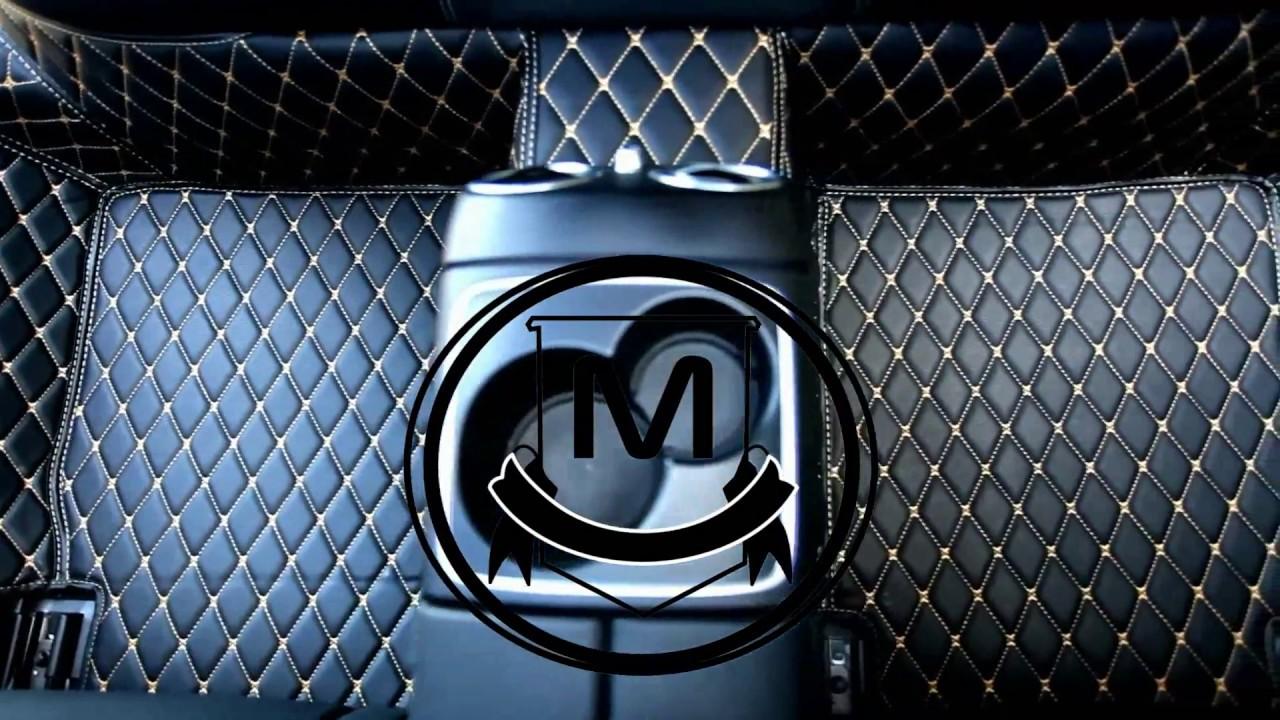 Premium Manicci Luxury Leather Custom Fitted Diamond Car Mats 20