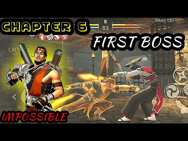Shadow Fight 3: first boss chapter 6 level impossible | xiang tzu