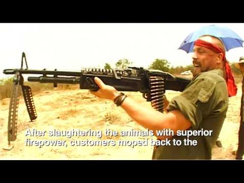 Madventures - Cambodian Shooting Range