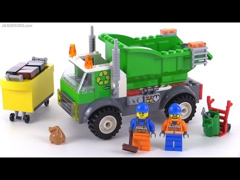 Lego Juniors Garbage Truck Review Set 10680 Youtube