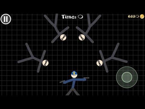 Stickman Воины Геймплей Часть 3 - Полиция Vs Thief