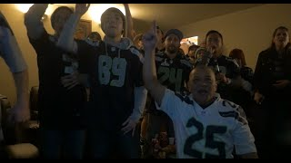 seahawks fan reaction vs patriots superbowl xlix 49 2 1 2015