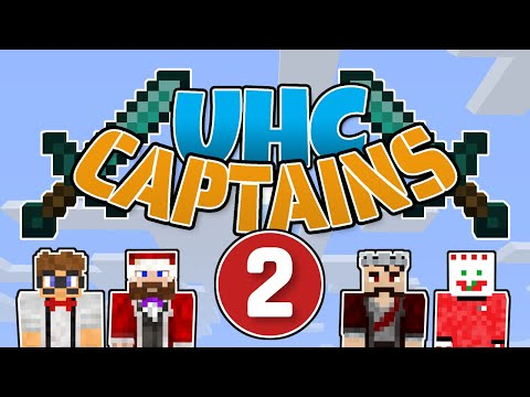 UHC Captains #2 - Separated! | Minecraft 1.15