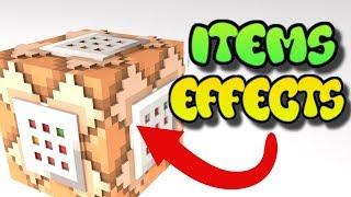 Minecraft Command Block Creations (Item Effects) Tutorial - Xbox/PE