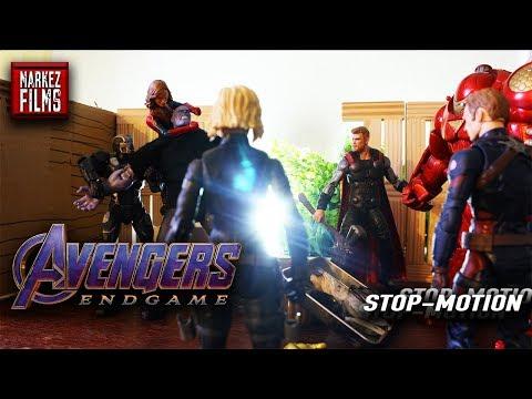 Avengers ENDGAME Thor Kills Thanos [Stop Motion Recreation]