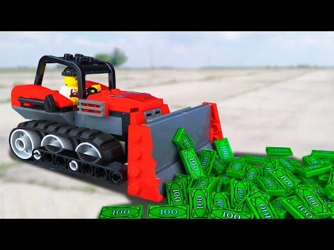 LEGO Ограбление Поезда 🔴 ЛЕГО Мультики про Полицию