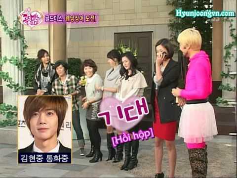 Vietsub 25 10 09 SBS Golden Miss Diary   Hyun Joong Phone call