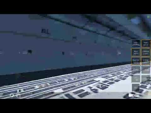 Infinite flight Global. Purolator cargo Douglas MD-11 take off FANC to KSEA.