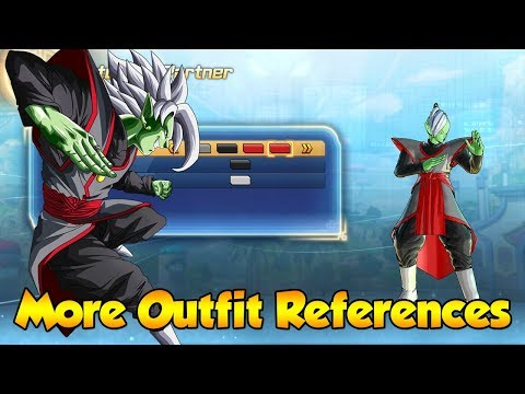 More Character Outfit References from Dragon ball Series