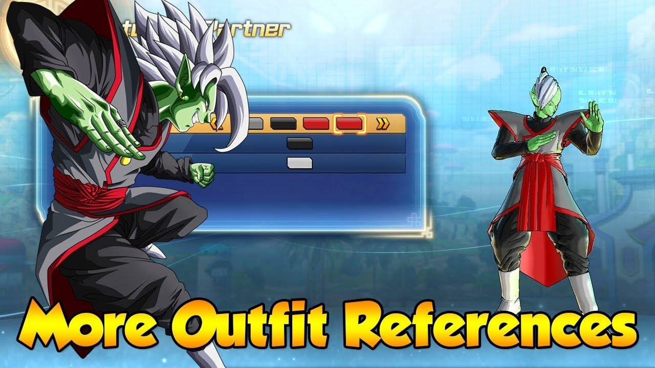 More Character Outfit References from Dragon ball Series! , Dragon Ball  Xenoverse 2