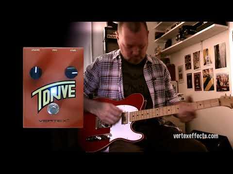 Vertex Effects: T-Drive - Jam demo with Ron Wood ESP Tele.