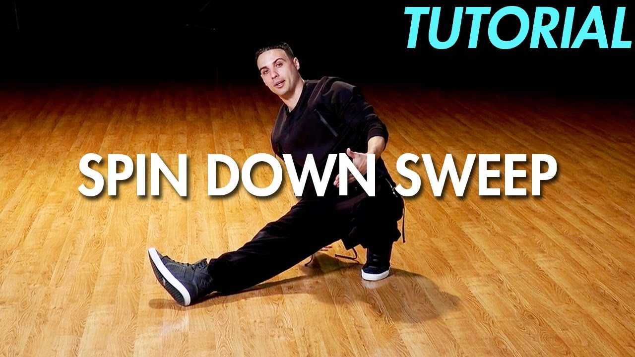 How to do the Spin Down Sweep (Hip Hop Dance Moves Tutorial: Breakdance) | Mihran Kirakosian