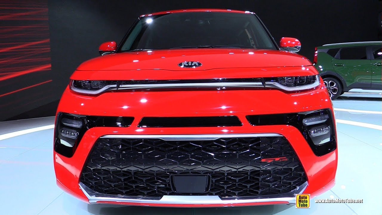 2020 Kia Soul Gt Line Exterior And Interior Walkaround Debut At 2018 La Auto Show Youtube Kia Soul Kia La Auto Show