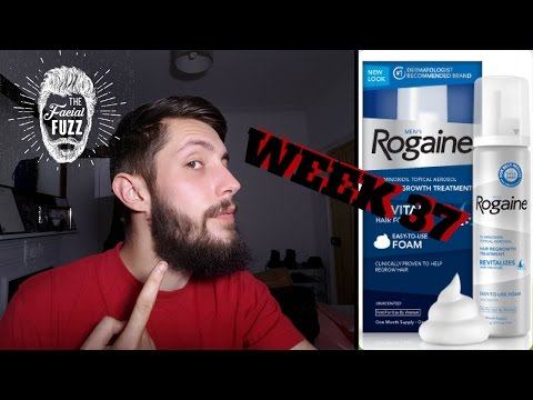 Minoxidil Beard | Week 37 | The Experiment | #Facialfuzzfridays