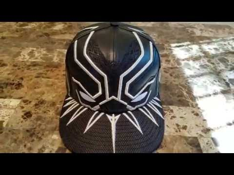newest 205b8 c3674 T Challa Black Panther Armor New Era Hat - YouTube