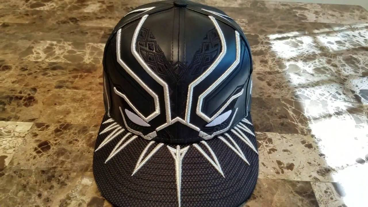 T Challa Black Panther Armor New Era Hat - YouTube 0a5a1efac9c