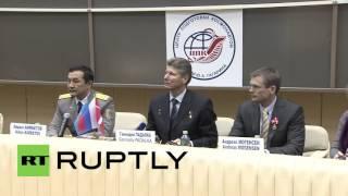 Russia: Recently returned ISS crew pay tribute to legendary cosmonaut Yuri Garagin