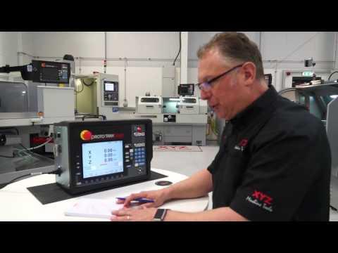 XYZ Proto Trak Control Demo from Steve at XYZ machine tools
