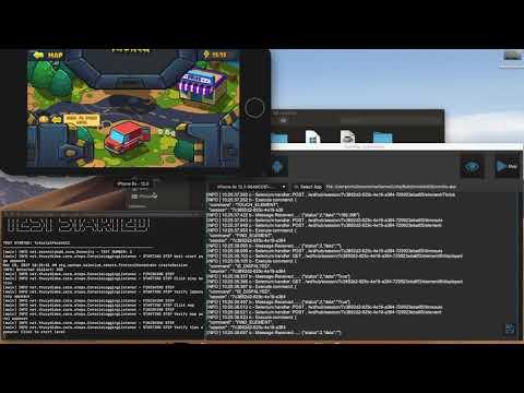 Unity UI Automation on iOS Simulator
