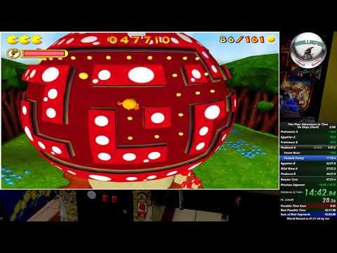 Pac-Man: Adventures In Time Speedrun (Hard - 43:54.21) [WR]