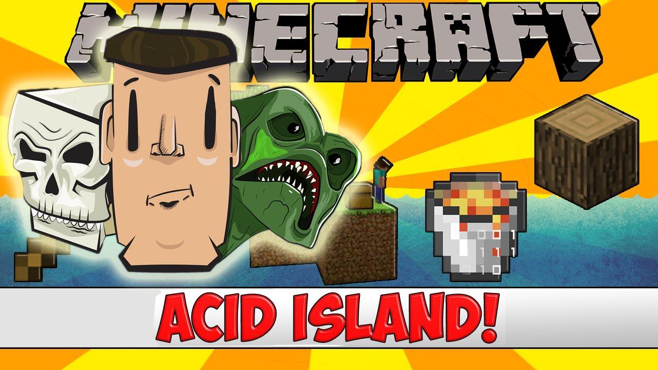 Kết quả hình ảnh cho acid island minecraft