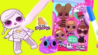 ВОЛШЕБНЫЙ МАРКЕР - КУКЛЫ ЛОЛ! Imagine Ink LOL #Coloring Book for Kids Раскраска Видео для Детей