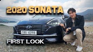 2020 Hyundai Sonata - First Look! Brand New 8th generation Sonata from Hyundai
