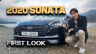 2020 Hyundai Sonata - First Look! Brand New 8th Generation Sonata From Hyundai