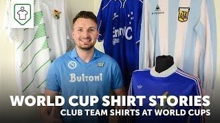 World Cup Shirt Stories: Club team shirts at the World Cup