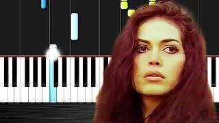Hasretinle Yandı Gönlüm - Piano tutorial by VN